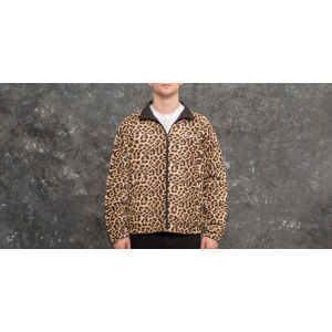 40s & Shorties x HUSTLER Hooligan Track Jacket Black/ Leopard