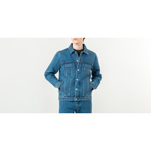 A. P. C. Charles Washed Denim Jacket Washed Indigo