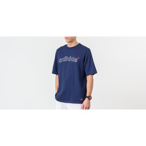 adidas Archive Logo Tee Night Sky