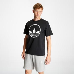 adidas Circle Trefoil Tee Black