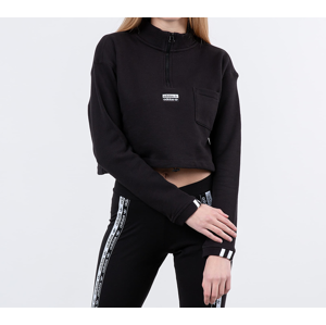 adidas Cropped Pullover Black