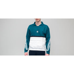 adidas Drill Pullover Real Teal/ White