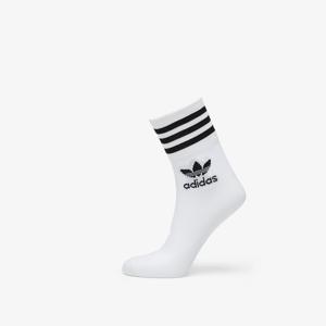 adidas Mid Cut Crew Socks White/ Black