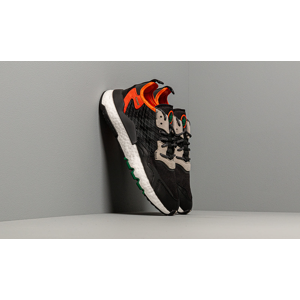 adidas Nite Jogger Core Black/ Grey Six/ Orange