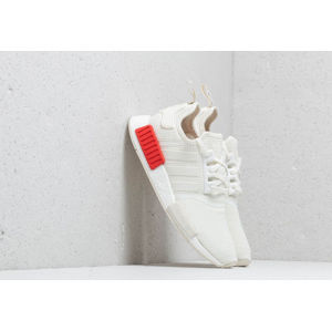 adidas NMD_R1 Off White/ Off White/ Lush Red