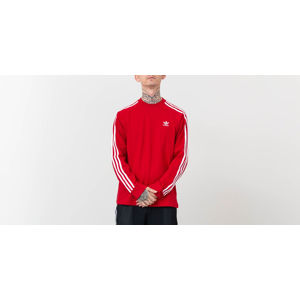 adidas Originals 3-Stripes Longsleeve Tee Power Red
