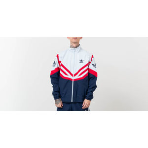 adidas Originals Sportive Track Top Jacket Light Gray/ Navy