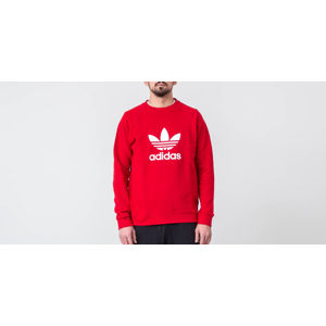 adidas Originals Trefoil Crewneck Power Red