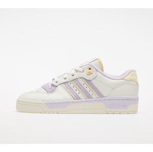 adidas Rivalry Low Cloud White/ Off White/ Purple Tint