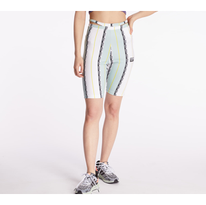 adidas Shorts Tights White/ Green Tint