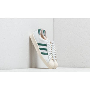 adidas Superstar 80s Recon Crystal White/ Collegiate Green/ Off White