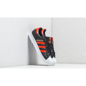 adidas Superstar Core Black/ Bold Orange/ Ftw White
