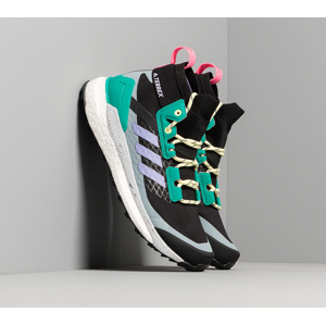 adidas Terrex Free Hiker W Core Black/ Light Purple/ Glow Green
