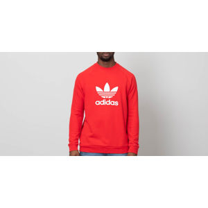 adidas Trefoil Crewneck Collegiate Red