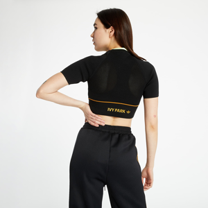 adidas x Ivy Park Knit Crop Top Black/ Mesa