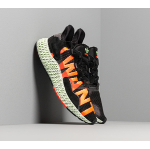adidas ZX 4000 4D Core Black/ Hi-Res Yellow/ Bright Cyan