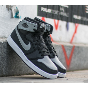 Air Jordan 1 KO High OG Black/ Shadow Grey- White
