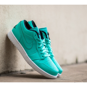 Air Jordan 1 Low Hyper Turquoise/ Black White