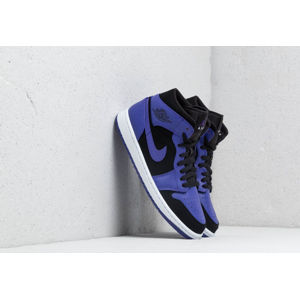 Air Jordan 1 Mid Black/ Dark Concord-White