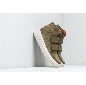 Air Jordan 1 RE Hi Double Strap Olive Canvas/ Cone-Light Bone