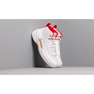 Air Jordan 12 Retro White/ University Red-Metallic Gold