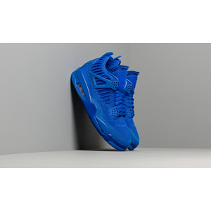 Air Jordan 4 Retro Flyknit Hyper Royal/ Black-Hyper Royal