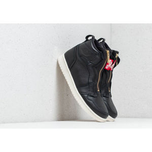 Air Jordan Wmns 1 High Zip Black/ Sail-University Red