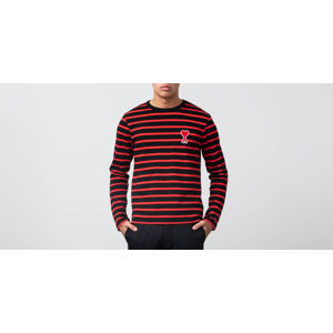 Alexandre Mattiussi Stripped Tee Black/ Red