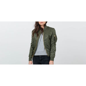 Alpha Industries MA-1 VFLW Wmn Sage Green/ Gold