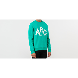 A.P.C. Decale Crewneck Green