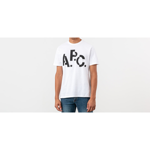 A.P.C. Decale Tee White