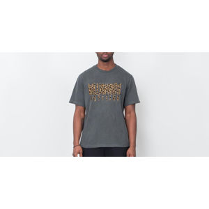 Billionaire Boys Club Leopard Fill Straight Logo T-Shirt Black