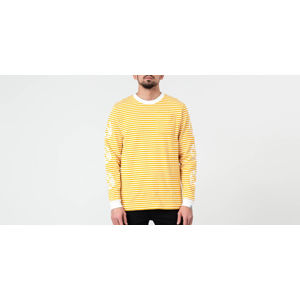 Billionaire Boys Club Small Stripe Longsleeve Tee Yellow/ White