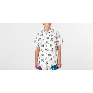 by Parra Camp Collar Vases Shirt White