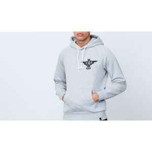 by Parra Jackdaw Logo Hoodie Heather Grey