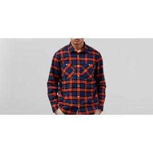 Carhartt Sloman Long Sleeve Sloman Shirt Metro Blue/ Persimmon