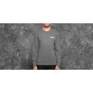 Carhartt WIP College Script Sweat Dark Grey Heather/ White