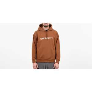 Carhartt WIP Hooded Sweat Hamilton Brown/ White