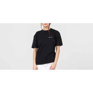 Carhartt WIP Script Embroidery Tee Black/ White