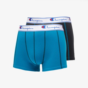 Champion 2Pack Boxers Black/ Blue