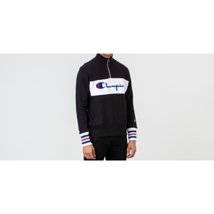 Champion Half Zip Crewneck Black