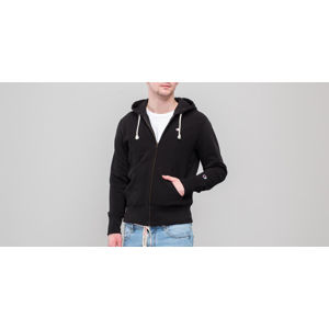 Champion Hooded Full Zip Sweatshirt Black