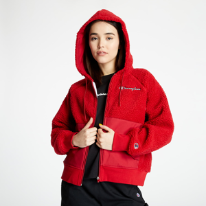 Champion Sherpa Hooded Jacket Red