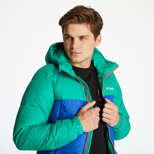 Columbia Pike Lake Hooded Jacket Lapis Blue/ Emerald Green