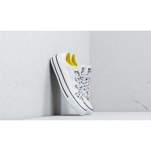 Converse Chuck Taylor All Star Big Eyelets Ox White/ Fresh Yellow/ Black