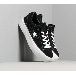 Converse One Star Platform Black/ Black/ White