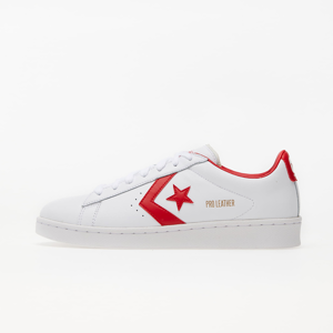 Converse Pro Leather Gold Standard White/ University Red