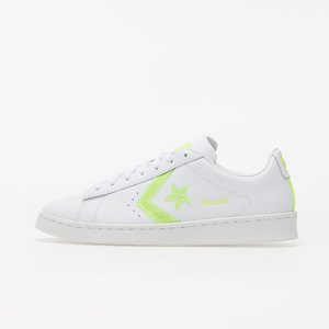 Converse Pro Leather White/ Lemon Venom/ White