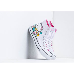 Converse x Hello Kitty Chuck Taylor All Star Hi White/ Pink/ White