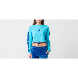 Converse x Miley Cyrus Cropped Longsleeve Tee Blue